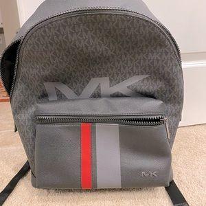 Men Michael kors leather backpack